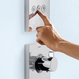 Colonne de douche HANSGROHE – Solutions encastrée 3 fonctions
