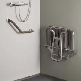 Accessoires PELLET - Siège de douche escamotable