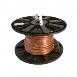 Câble de terre en cuivre nu